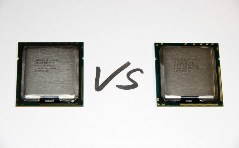 Intel Core i7-920 vs. Xeon X5650